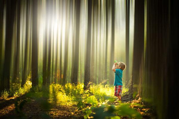 Phát hờn với bộ ảnh tuyệt đẹp bố chụp con trai trong nông trại - Ảnh 16.