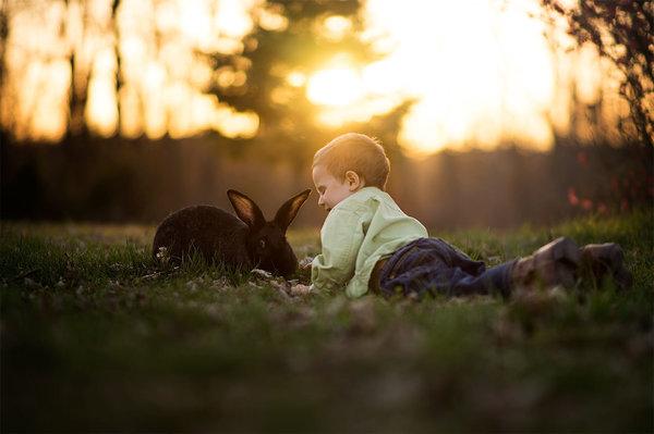 Phát hờn với bộ ảnh tuyệt đẹp bố chụp con trai trong nông trại - Ảnh 17.