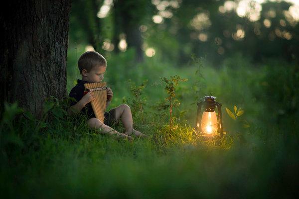 Phát hờn với bộ ảnh tuyệt đẹp bố chụp con trai trong nông trại - Ảnh 18.
