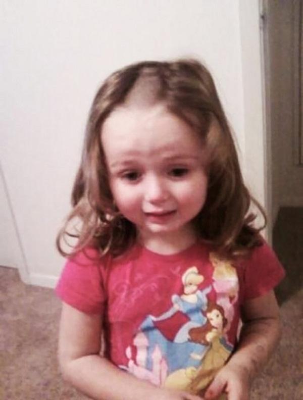 Cười vỡ bụng với những bé muốn đoạt giải cây kéo vàng bằng cách tự cắt tóc - Ảnh 1.