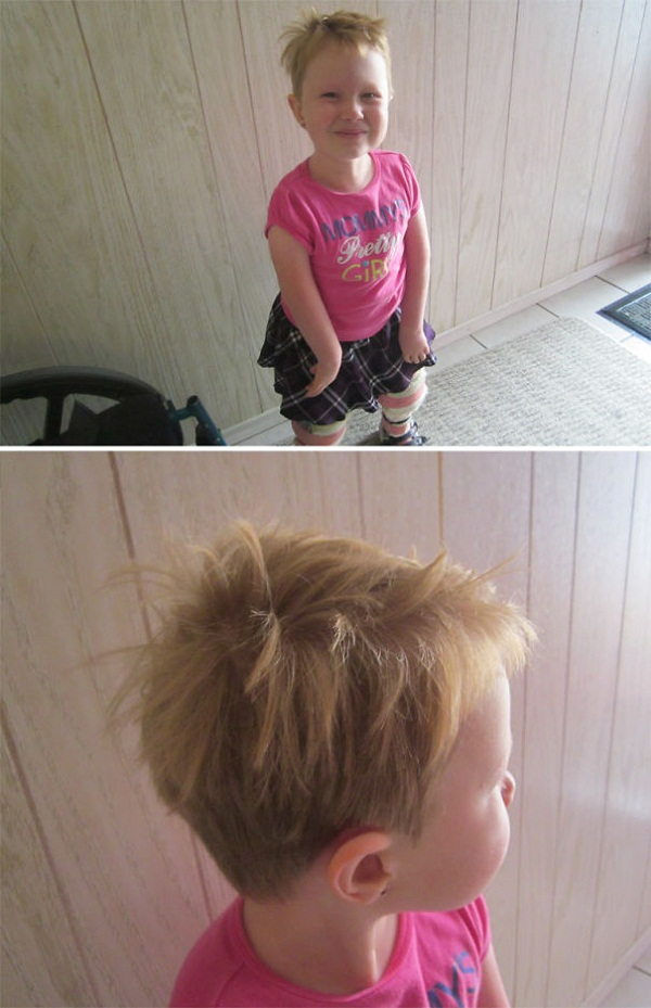 Cười vỡ bụng với những bé muốn đoạt giải cây kéo vàng bằng cách tự cắt tóc - Ảnh 10.