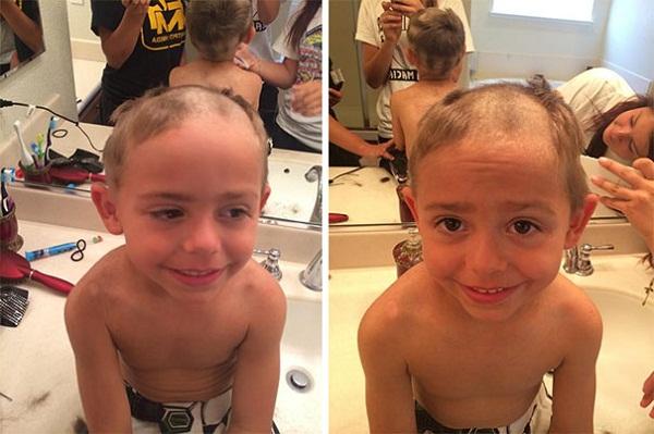 Cười vỡ bụng với những bé muốn đoạt giải cây kéo vàng bằng cách tự cắt tóc - Ảnh 15.