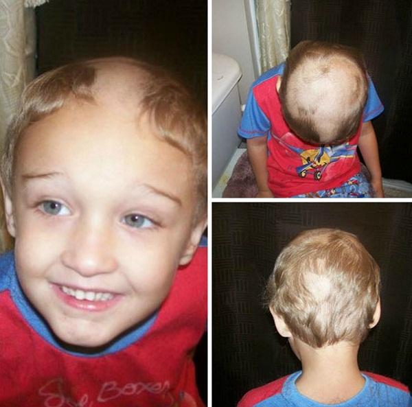 Cười vỡ bụng với những bé muốn đoạt giải cây kéo vàng bằng cách tự cắt tóc - Ảnh 16.