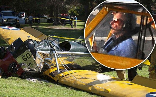 """Tài tử """"Star Wars"""" Harrison Ford suýt gây tai nạn máy bay nghiêm trọng - Ảnh 1."""