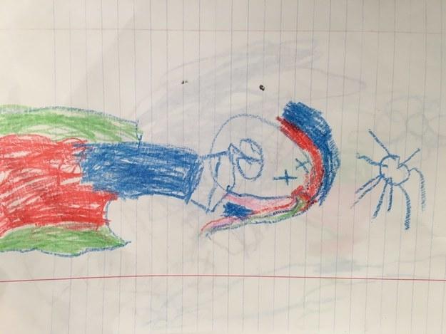 Đỏ mặt trước những bức tranh nghệ thuật do trẻ tạo ra - Ảnh 2.