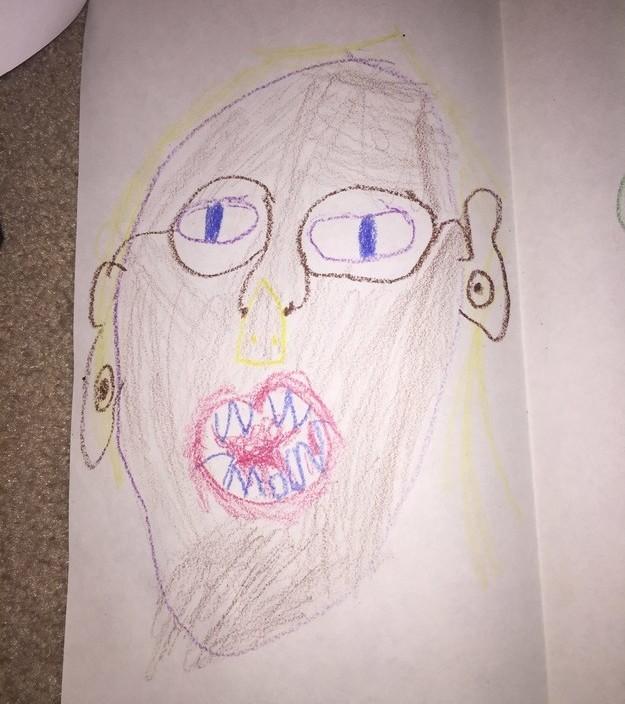 Đỏ mặt trước những bức tranh nghệ thuật do trẻ tạo ra - Ảnh 5.