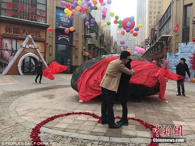 Chàng trai mang hẳn thiên thạch nặng 33 tấn đi cầu hôn người yêu - Ảnh 3.