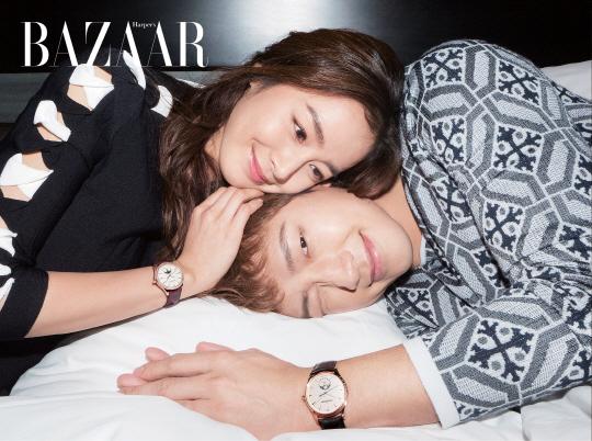 Hé lộ những hình ảnh đẹp ngất ngây của cặp vợ chồng Kim Tae Hee - Bi Rain - Ảnh 1.