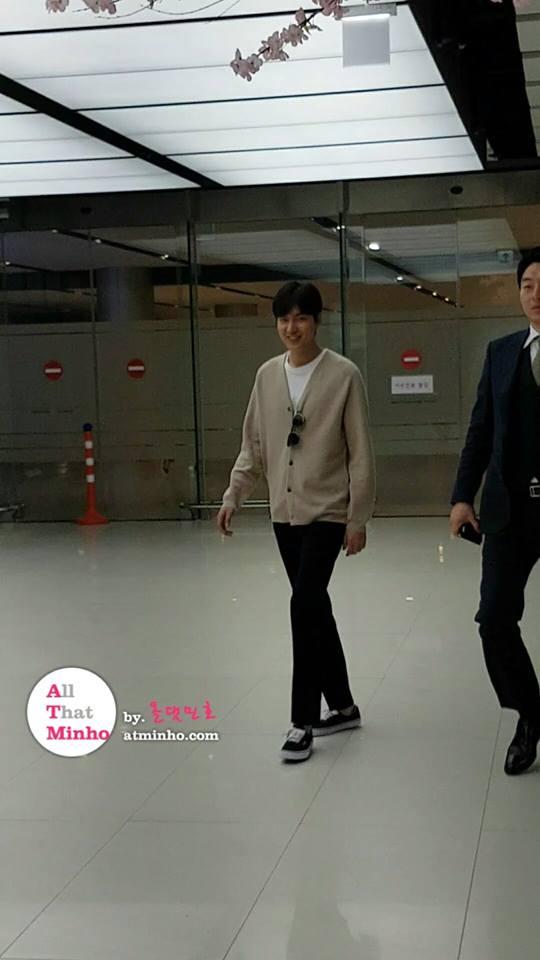 Lee Min Ho xuất hiện tươi tắn, mũm mĩm sau khi thông báo sắp nhập ngũ - Ảnh 2.