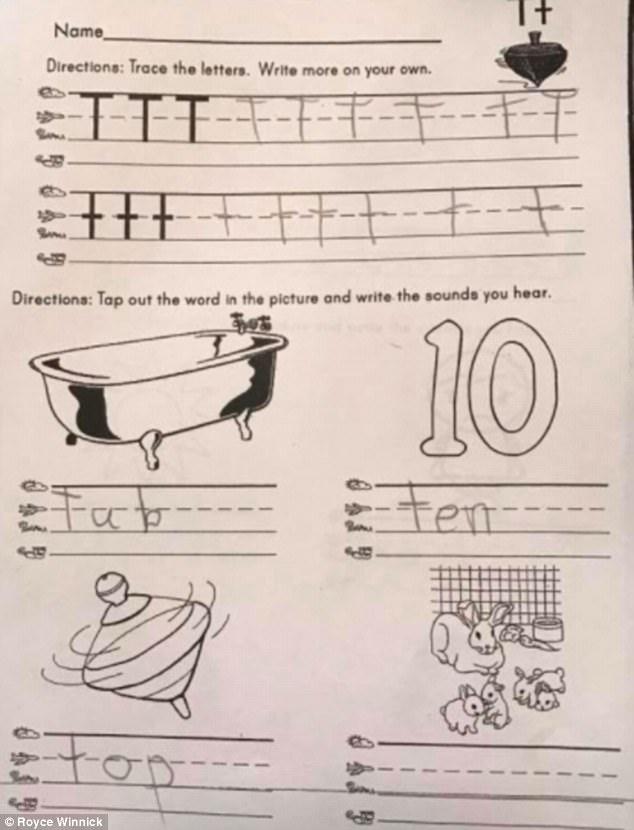 Hại não với bài tập về nhà dành cho trẻ... 5 tuổi - Ảnh 1.
