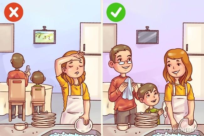 Cách ứng xử của cha mẹ thông minh trước những hành vi xấu trẻ nào cũng có - Ảnh 8.