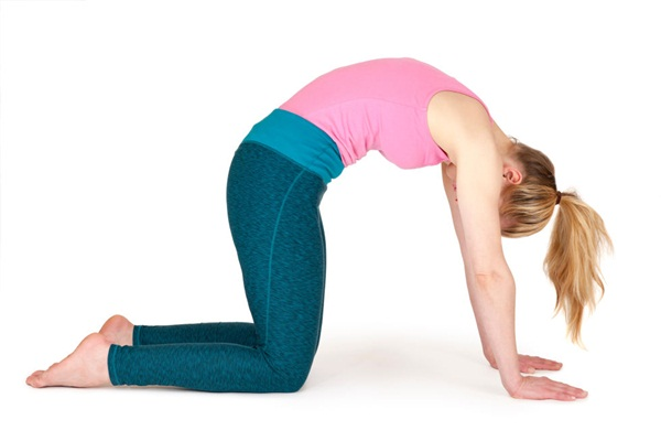 10 tư thế yoga dễ tập dành cho các cô nàng muốn vận động ở công sở - Ảnh 7.