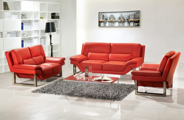 10 cách phối màu đỏ và trắng giúp phòng khách nổi bần bật mà không mất nhiều công sức - Ảnh 1.