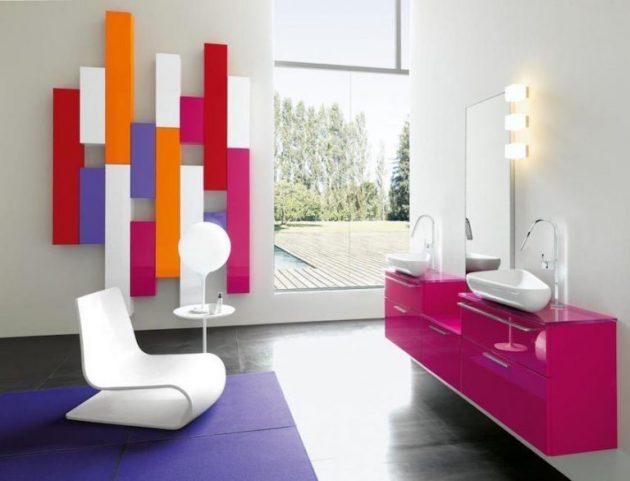 14 ý tưởng vui nhộn để phòng tắm có diện mạo mới   - Ảnh 10.