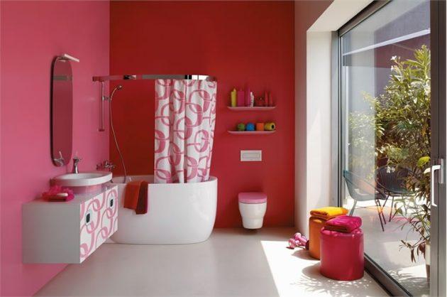 14 ý tưởng vui nhộn để phòng tắm có diện mạo mới   - Ảnh 12.