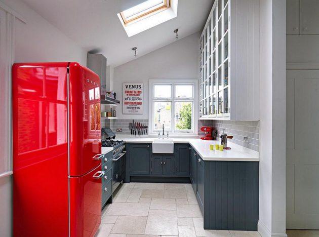 19 ý tưởng trang trí tuyệt vời cho nhà bếp nhỏ trông rộng thênh thang - Ảnh 1.