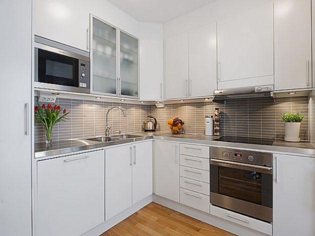 19 ý tưởng trang trí tuyệt vời cho nhà bếp nhỏ trông rộng thênh thang - Ảnh 14.