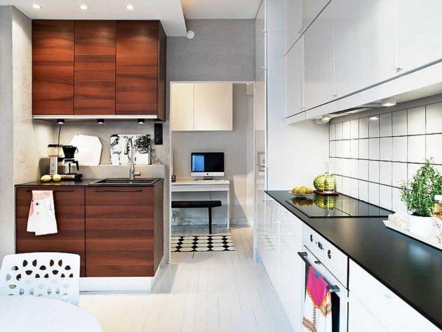 19 ý tưởng trang trí tuyệt vời cho nhà bếp nhỏ trông rộng thênh thang - Ảnh 19.