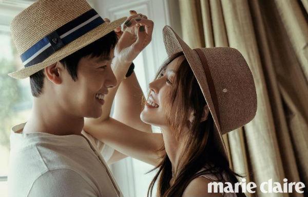 Những hình ảnh đẹp ngọt ngào trong bộ ảnh cưới của Kim So Yeon - Ảnh 5.