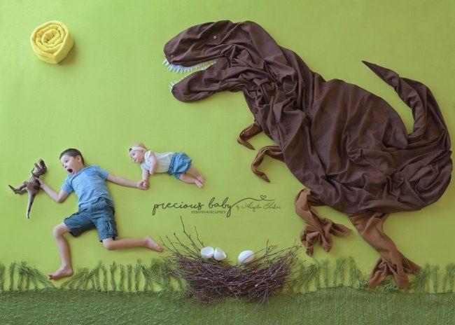 Nhiếp ảnh gia gợi ý những ý tưởng chụp ảnh cho bé sơ sinh không đụng hàng - Ảnh 1.