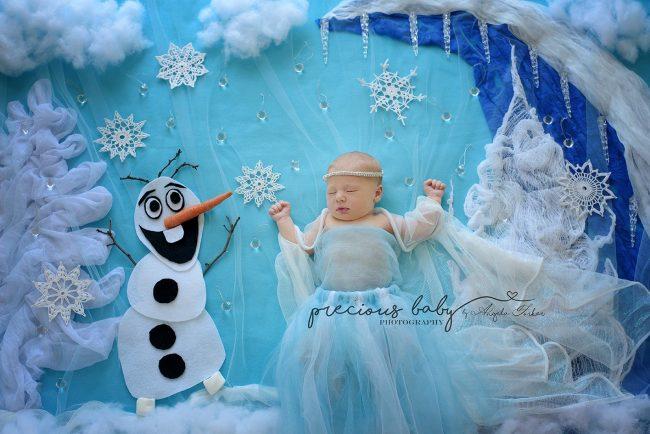 Nhiếp ảnh gia gợi ý những ý tưởng chụp ảnh cho bé sơ sinh không đụng hàng - Ảnh 9.