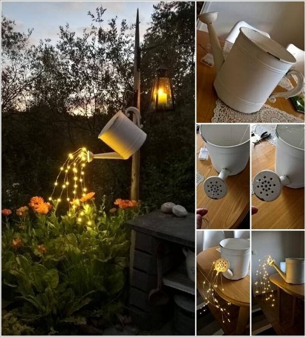 Tự làm điểm nhấn ánh sáng cho sân vườn thêm lãng mạn bằng 10 cách đơn giản dưới đây - Ảnh 2.