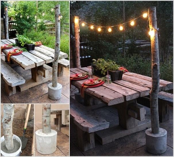 Tự làm điểm nhấn ánh sáng cho sân vườn thêm lãng mạn bằng 10 cách đơn giản dưới đây - Ảnh 3.