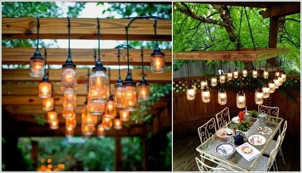 Tự làm điểm nhấn ánh sáng cho sân vườn thêm lãng mạn bằng 10 cách đơn giản dưới đây - Ảnh 6.