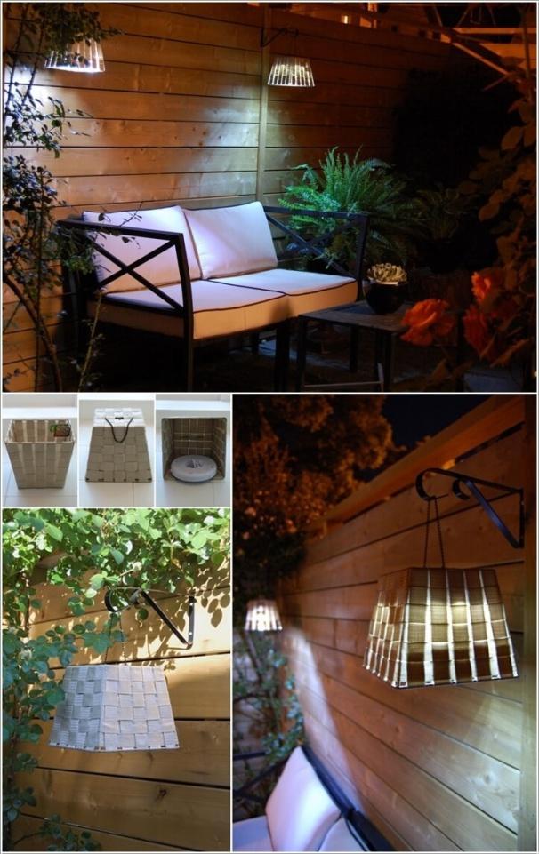 Tự làm điểm nhấn ánh sáng cho sân vườn thêm lãng mạn bằng 10 cách đơn giản dưới đây - Ảnh 11.