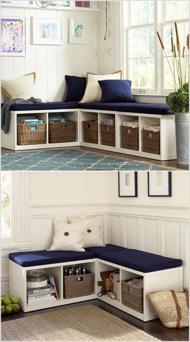Ý tưởng độc đáo hoàn thiện phòng khách bằng cách trang trí góc chết - Ảnh 5.