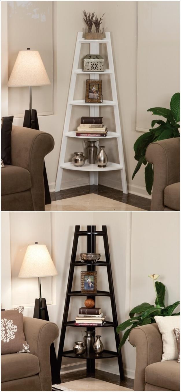 Ý tưởng độc đáo hoàn thiện phòng khách bằng cách trang trí góc chết - Ảnh 11.