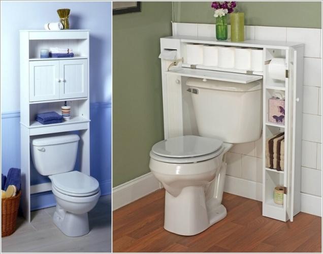 Phòng tắm nhỏ đến mấy cũng vẫn gọn gàng nhờ mẹo lưu trữ thông minh này - Ảnh 2.