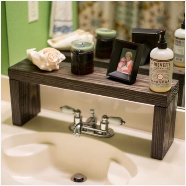 Phòng tắm nhỏ đến mấy cũng vẫn gọn gàng nhờ mẹo lưu trữ thông minh này - Ảnh 7.