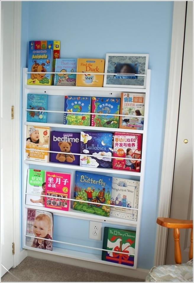 Những mẫu thiết kế kệ sách có cảm hứng giúp con thích đọc sách mỗi ngày - Ảnh 4.