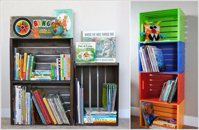 Những mẫu thiết kế kệ sách có cảm hứng giúp con thích đọc sách mỗi ngày - Ảnh 12.