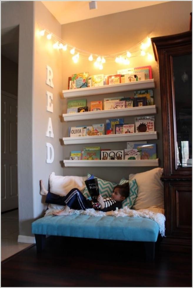 Những mẫu thiết kế kệ sách có cảm hứng giúp con thích đọc sách mỗi ngày - Ảnh 14.