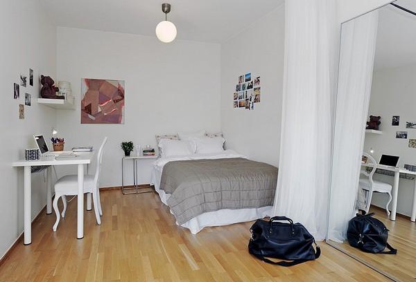 Chỉ 44m² nhưng nhờ cách bài trí mà căn hộ này trông rộng đến khó tin - Ảnh 5.
