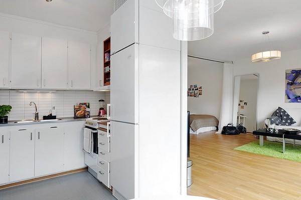 Chỉ 44m² nhưng nhờ cách bài trí mà căn hộ này trông rộng đến khó tin - Ảnh 10.