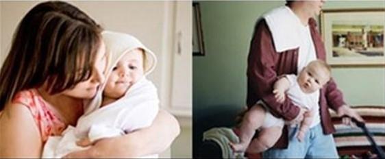 Cười ngất với chùm ảnh: Muôn kiểu khác biệt giữa bố và mẹ khi chăm con - Ảnh 11.