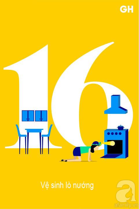 Lịch trình 30 ngày dọn dẹp nhà cửa, đánh bay mọi bụi bẩn để đón mùa mới (P2) - Ảnh 1.