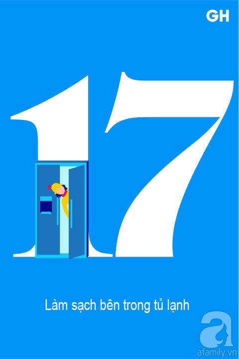 Lịch trình 30 ngày dọn dẹp nhà cửa, đánh bay mọi bụi bẩn để đón mùa mới (P2) - Ảnh 2.
