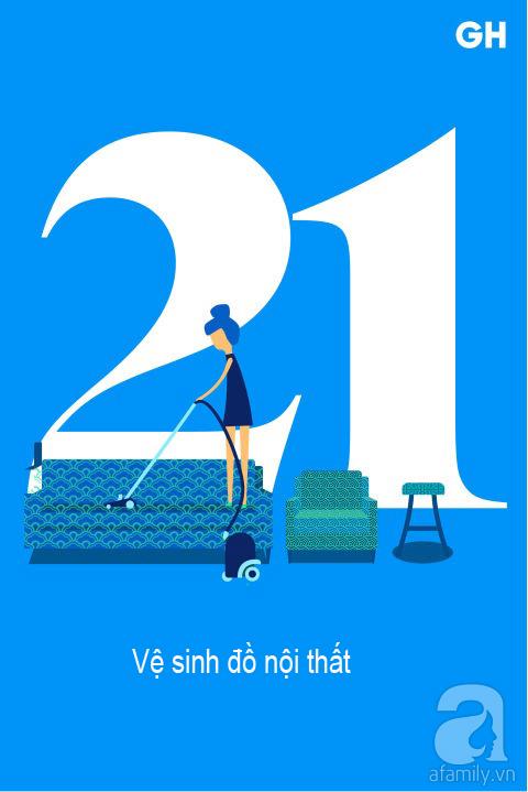 Lịch trình 30 ngày dọn dẹp nhà cửa, đánh bay mọi bụi bẩn để đón mùa mới (P2) - Ảnh 6.