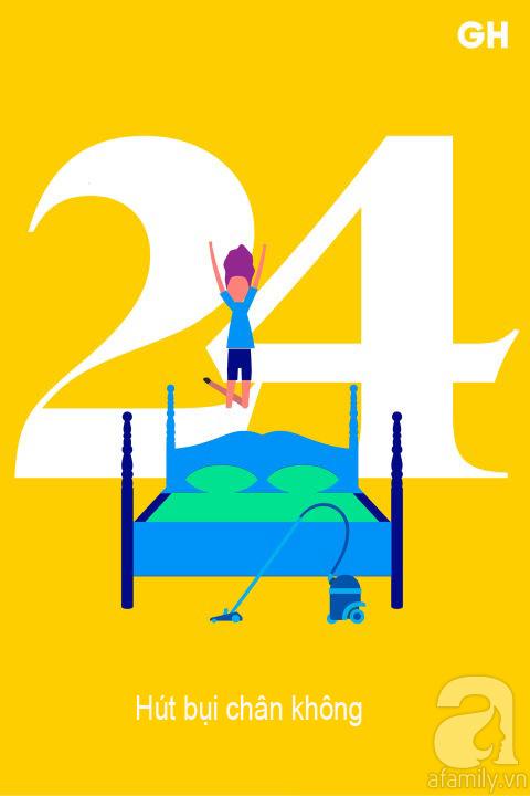 Lịch trình 30 ngày dọn dẹp nhà cửa, đánh bay mọi bụi bẩn để đón mùa mới (P2) - Ảnh 9.