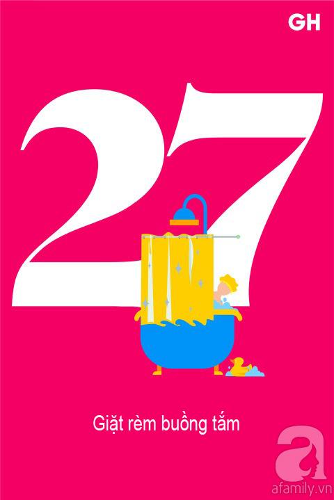 Lịch trình 30 ngày dọn dẹp nhà cửa, đánh bay mọi bụi bẩn để đón mùa mới (P2) - Ảnh 12.