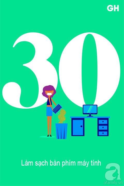 Lịch trình 30 ngày dọn dẹp nhà cửa, đánh bay mọi bụi bẩn để đón mùa mới (P2) - Ảnh 15.
