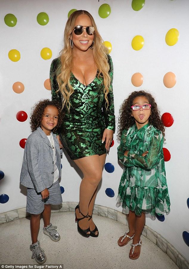Con gái Mariah Carey ăn mặc già chát, đanh đá trước ống kính máy ảnh - Ảnh 2.