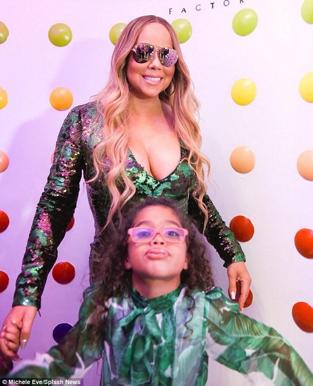 Con gái Mariah Carey ăn mặc già chát, đanh đá trước ống kính máy ảnh - Ảnh 3.