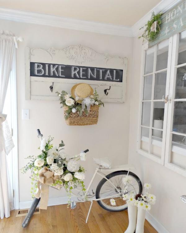 Những ý tưởng trang trí vườn tuyệt hay với xe đạp cũ bạn sẽ rất tiếc nếu biết quá muộn - Ảnh 10.