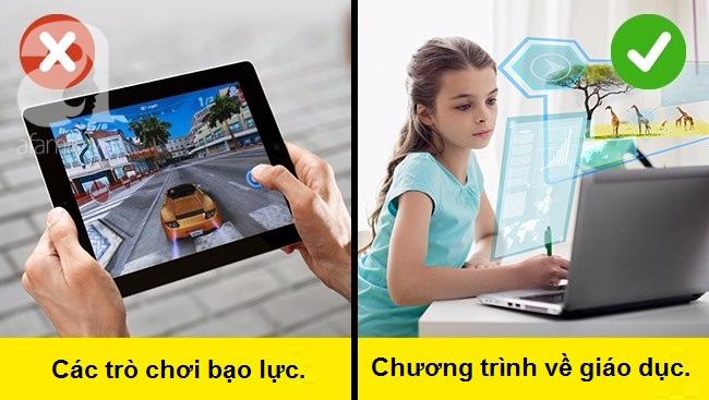 Cấm cản sẽ rất khó, hãy thử cách này để con chơi điện thoại, xem ti vi một cách thông minh - Ảnh 4.