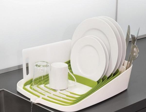 Những chiếc giá đựng bát đĩa đẹp dành cho nhà nhỏ làm siêu lòng bà nội trợ - Ảnh 6.